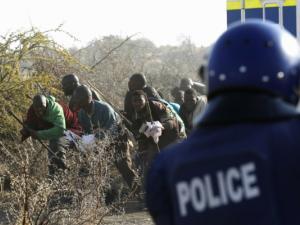 Afrique du Sud massacre de Marikana