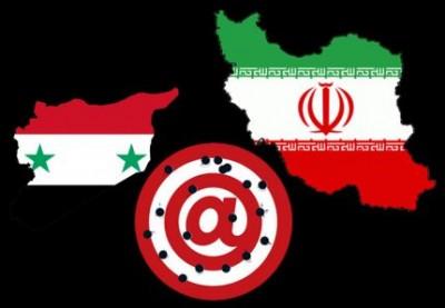 Guerre Syrie carte brisée