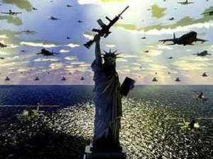 Statue de la liberté état policier