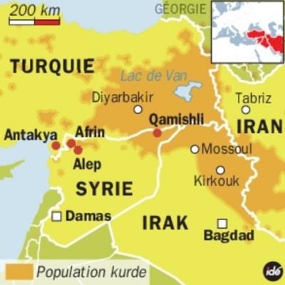 Syrie Turquie Kurdes