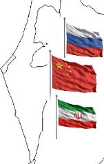 Russia Iran China Against War