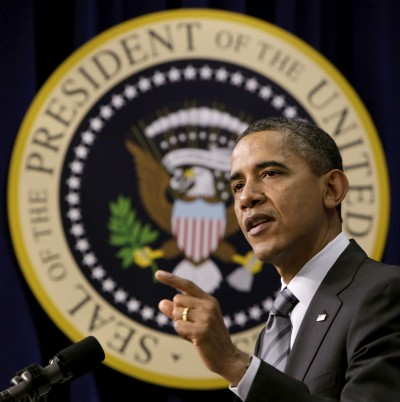 Obama Speaks At African American Policy in Action Leadership Conference