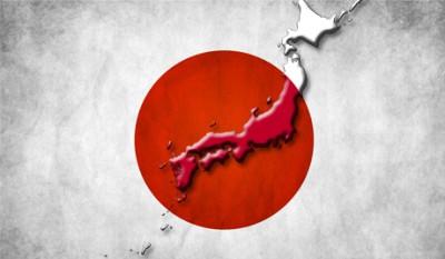 Japon carte symbole