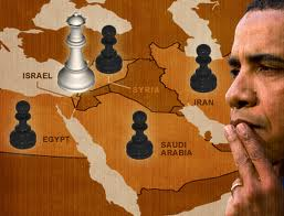 Obama Moyen-Orient échiquier