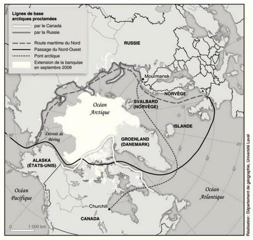 bateaux russes sur les cotes du nord