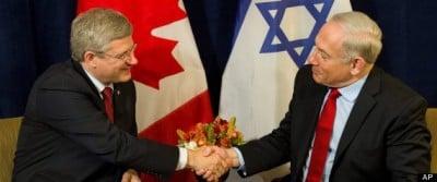 Stephen Harper Benjamin Netanyahu