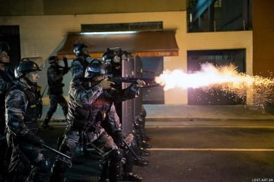 Police violence Brésil