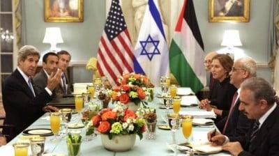 Négociations Palestine Israêl