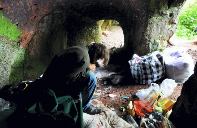 People Living in Caves as UK Homelessness Reaches Five-Year High