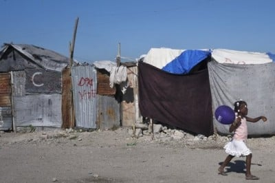 haiti girl-displacement-camp