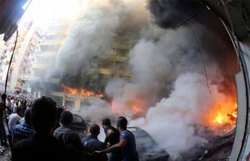 Terrorist attack on Lebanon (2)