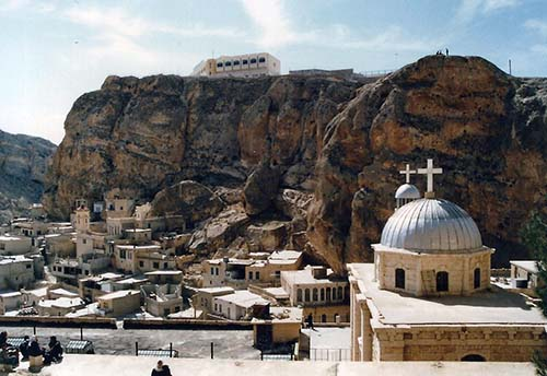 Christian World News >> The Battle of Maaloula in the Land of Jesus: US Sponsored Rebels Destroy Syria Christian ...