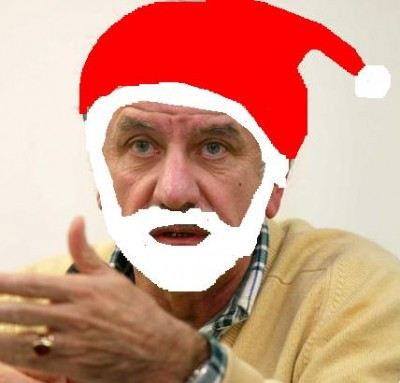 Noel Mamère Père Noël