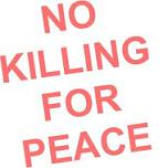 no killing for peace