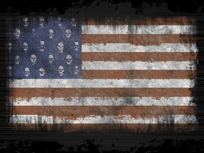 skulls-flags usa