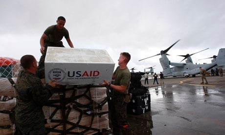 US Military Continues Massive Build-Up in Philippine Disaster Zone, Took Over Air Traffic in Tacloban