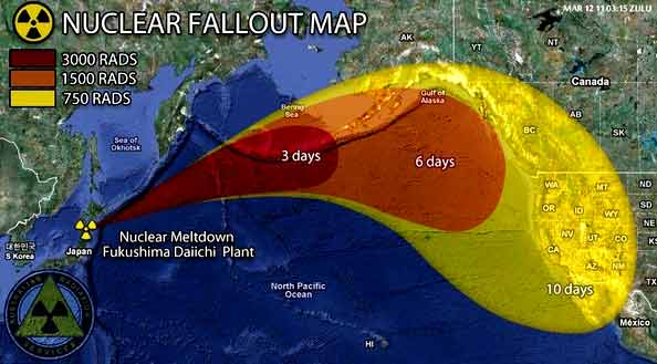 Fukushima Radiation Levels Will Concentrate in Pockets at ...