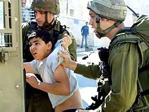 palestinian child israeli soldier