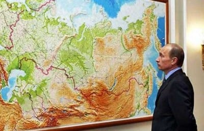 Poutine Russie Eurasie