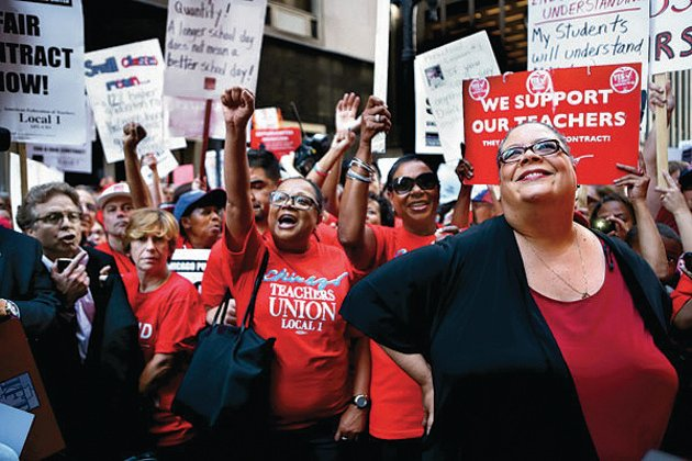 Image result for Chicago Teachers Union