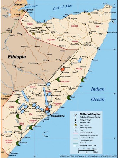 map of somalia globalresearch.ca