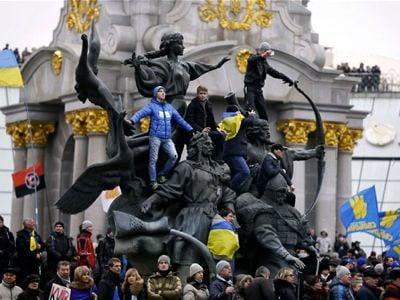 Ukraine manifestants
