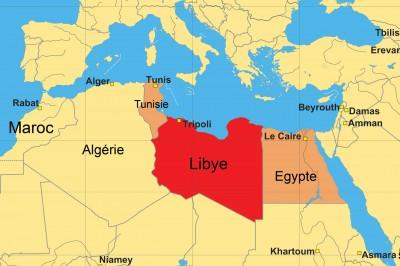 La France prépare des frappes militaires sur le sud de la Libye Libye-carte-400x266