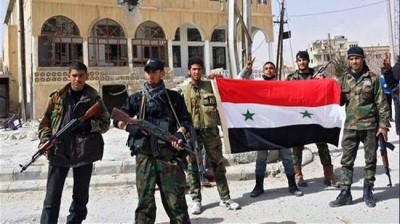Syrian army-Yabroud