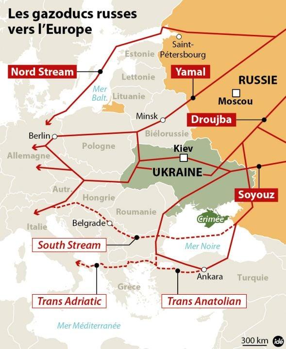 L'humiliation de l'OTAN en Crimée   peut-elle être le déclenchement d'une guerre... Ukraine-gazoducs