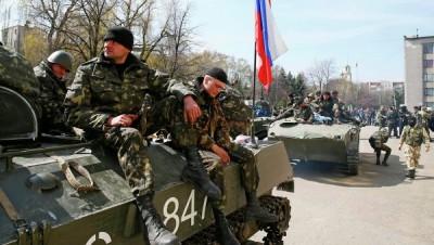 ukrainian soldiers slaviansk