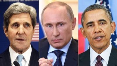 monde - Les Livres Conseillés sur le Nouvel Ordre Mondial Kerry-Obama-Poutine-400x225