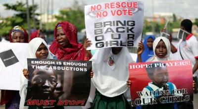 Nigeria-schoolgirls-protest-Boko-Haram-kidnappings-Akintunde-Akinleye
