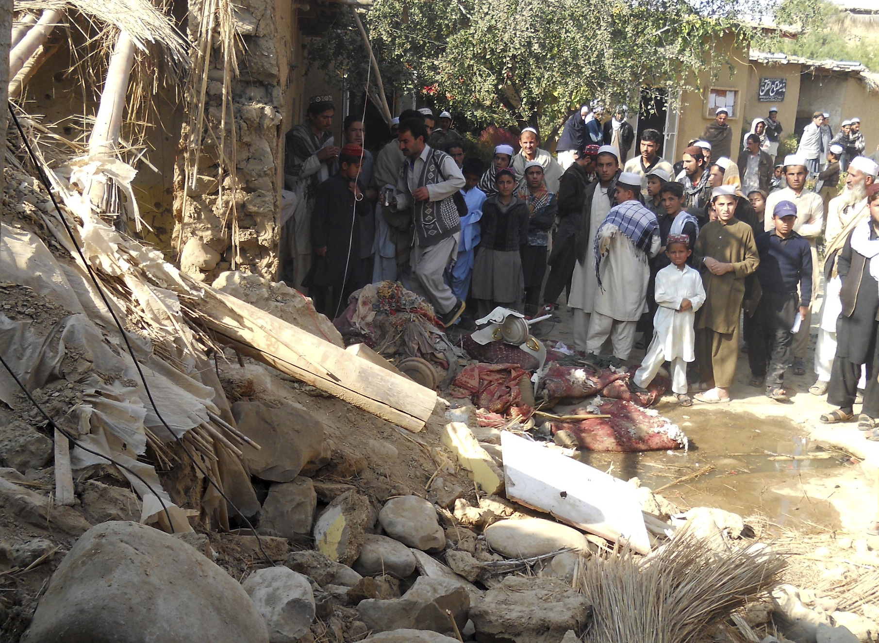 Most US Drone Strikes in Pakistan Attack Houses