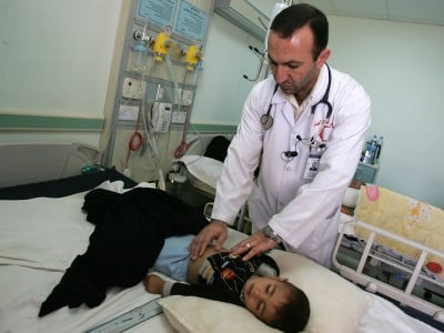 Iraqi Doctors See A Huge Growth In Children Born With Deformities