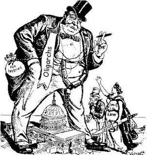 the economic corporate oligarchy of the world global