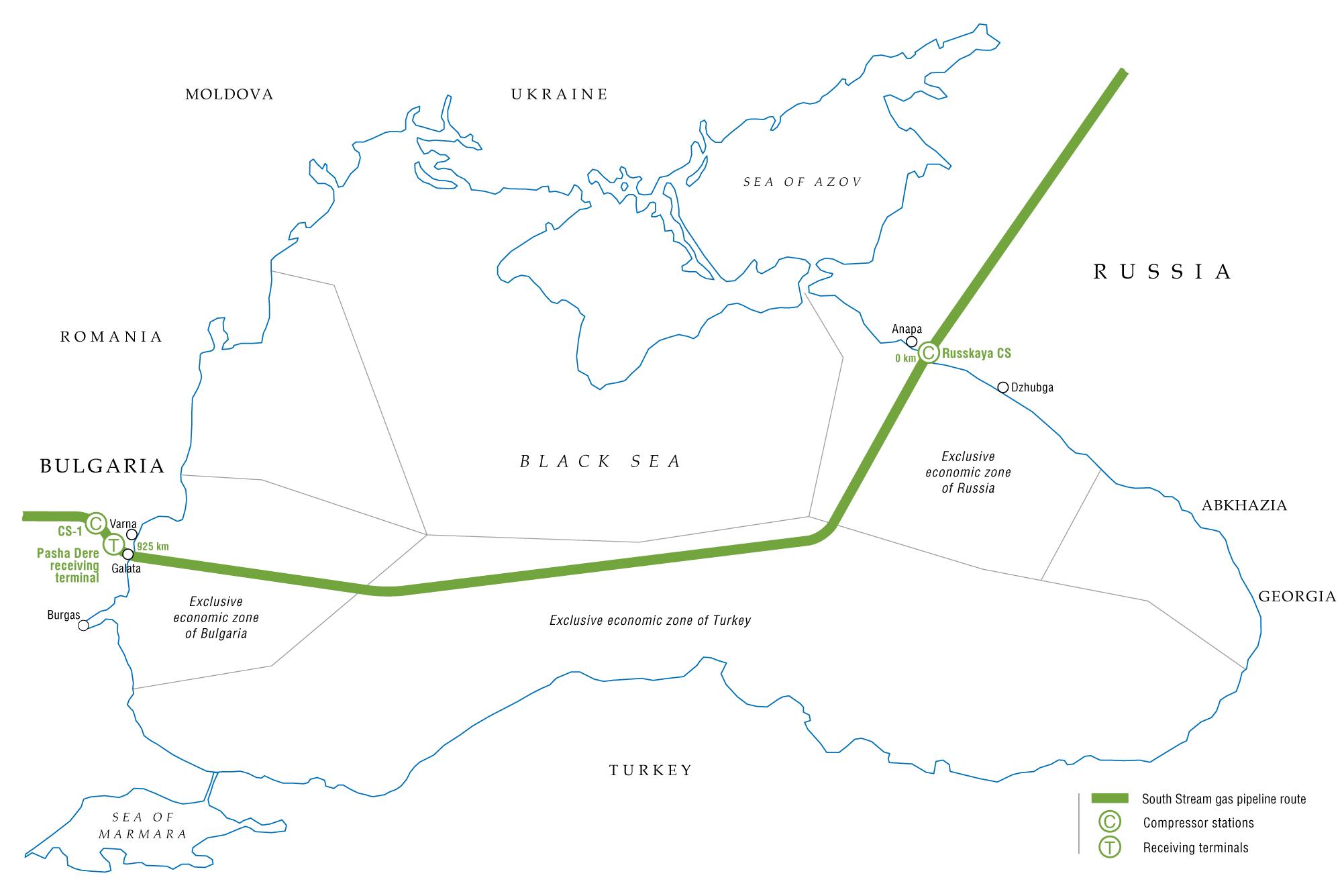Gas Pipeline Diplomacy