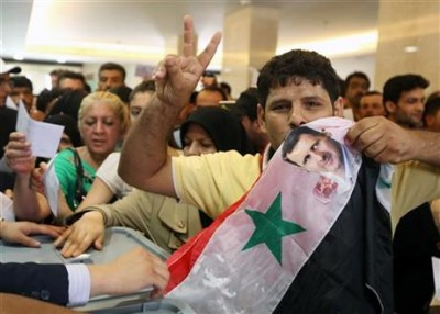 assad supporter