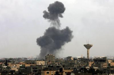 Bombardement de la Palestine