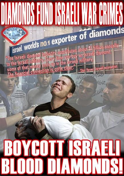 "Blood Diamonds Finance Israeli War Crimes in Gaza — President of London Diamond Bourse: ""We Must 'Finish the Job'"""