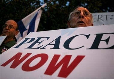 MIDEAST ISRAEL PALESTINIANS PEACE NOW