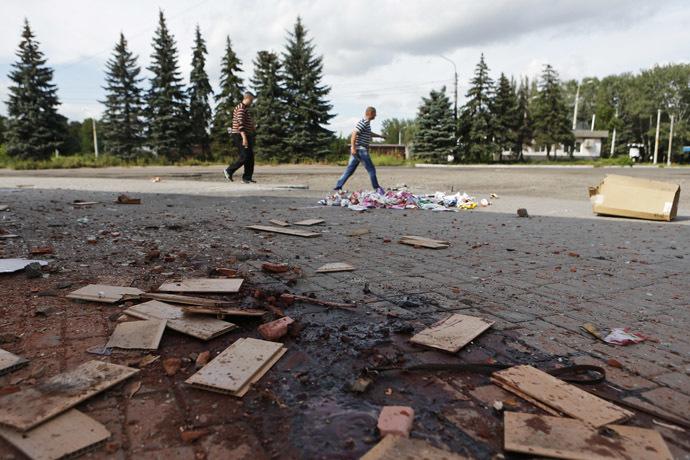 HRW: Ukrajinští vojáci jsou zodpovědní za smrt civilních obyvatel