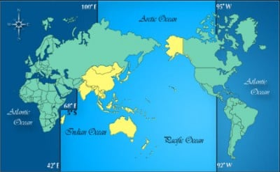 Map Of Us Alliances In Asia Globalinterco - Us empire map pacific