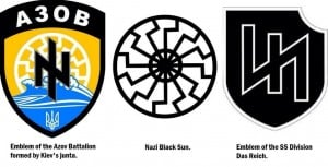 Is US NATO Preparing to Wage War on Russia? ukraine nazi emblems1 300x153