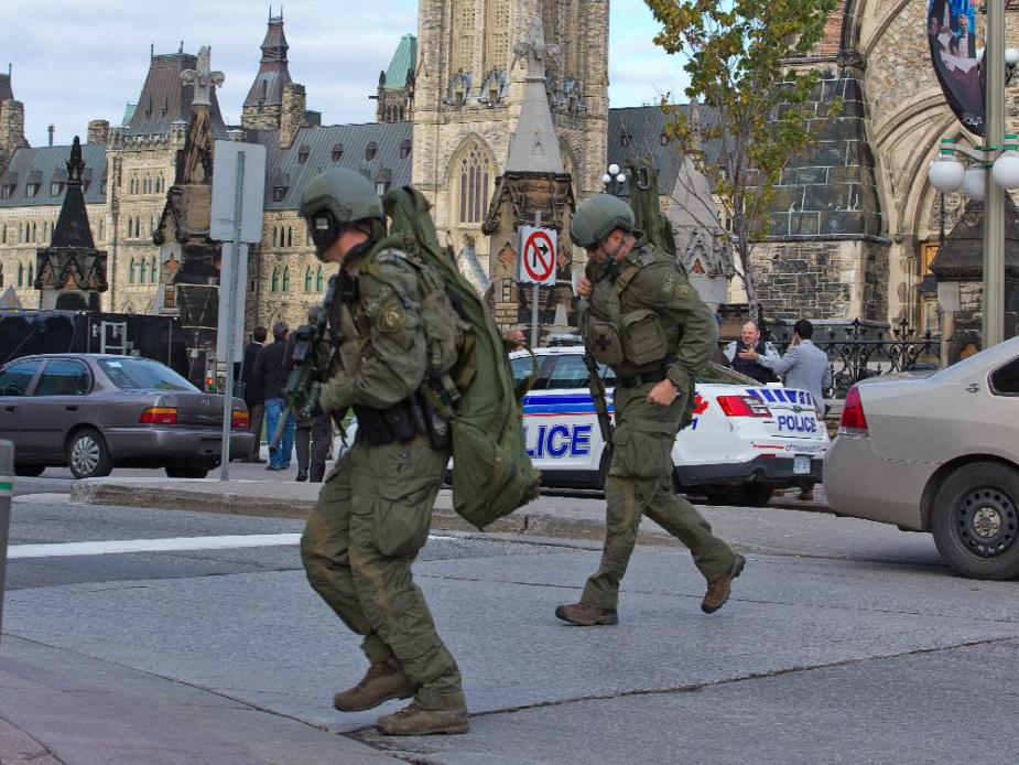 "The Ottawa Shootings and ""Canada's War on Terror""? Media Points to ""Homegrown Terror Threat"""