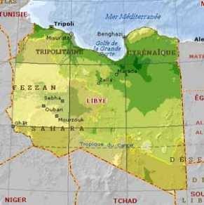 Libye carte 2