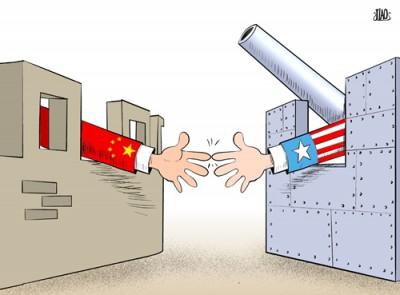 USA China caricature