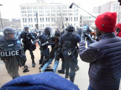 Ferguson police by Larry Everest on GlobalResearch.ca