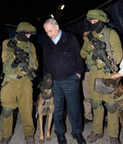 Netanyahu-Israele-Army-cani