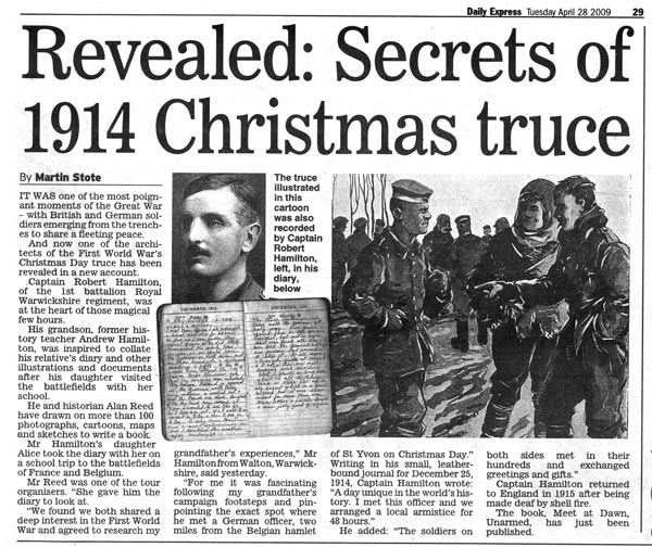 Image result for Christmas 1914