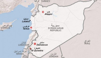 The Cradle Of Civilization And The Destruction Of Syrias Heritage - Syria world map